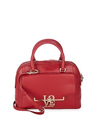 Love Moschino Crossbody Structured Dome Satchel Bag