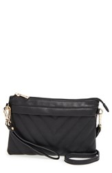 Junior Women's Emperia 'Maddie' Crossbody Wristlet Black
