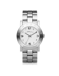 Marc By Marc Jacobs Amy 36 Mm Silver Tone Stainless Steel Women's Watch