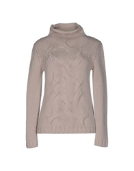Kangra Cashmere Turtlenecks Light Grey