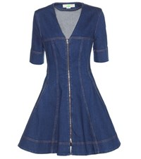 Stella Mccartney Denim Dress Blue