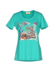 Ean 13 T Shirts Turquoise