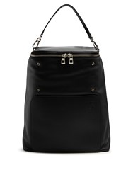 Loewe Goya Leather Backpack Black