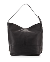 Kelsi Dagger Leather 50 Kent Hobo Bag Black