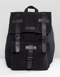 Barney's Barneys Leather Backpack In Black Black