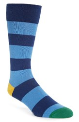 Paul Smith Men's Parton Socks Navy Blue