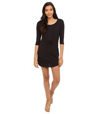 Only May 3 4 Sleeve Dress Black Women's Dress