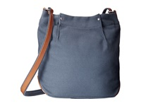 Ecco Eyota Canvas Crossbody Retro Blue Cross Body Handbags Multi