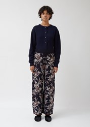 Antipast Knit Trousers Navy