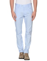 Daniele Alessandrini Trousers Casual Trousers Men Sky Blue