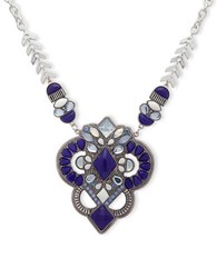 Lonna And Lilly Drama Pendant Necklace Blue