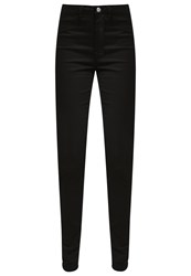 Selected Femme Sfgaia Slim Fit Jeans Black