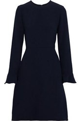 Mikael Aghal Woman Flared Cady Dress Navy