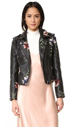 Blank Embroidered Moto Jacket As You Wish