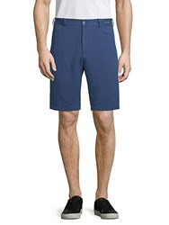 Paul And Shark Woven Chino Shorts Blue
