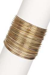 Stella Ruby Shimmer Stacking Bangle Bracelet Set Metallic
