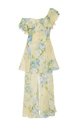 Alice Mccall Flawless One Shoulder Dress Floral