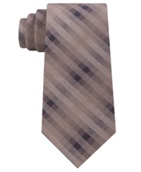 Kenneth Cole Reaction Men's Grid Tie Taupe