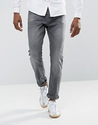 Tom Tailor Slim Jeans With Stretch In Grey Wash 1058