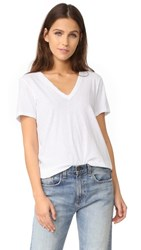 Rag And Bone Jean The Vee Tee Bright White