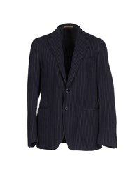 Piombo Suits And Jackets Blazers Men Black
