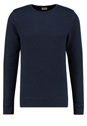 Knowledge Cotton Apparel Sweatshirt Total Eclipse Dark Blue