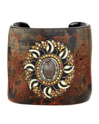 Garden Of Spring And Summer Horn Cuff Mcl By Matthew Campbell Laurenza