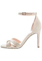 Dorothy Perkins Waterfall Sandals Silver Gold