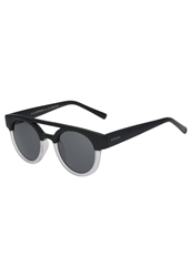 Komono Dreyfuss Sunglasses Matte Black Transparent