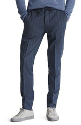 Bonobos Big And Tall Flat Front Cotton And Linen Blend Trousers Stripe Shirtmake