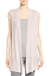Women's Eileen Fisher Cap Sleeve Long Cardigan Opal