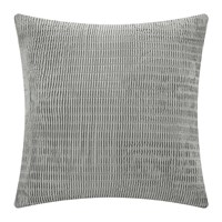 Dkny Soho Grid Decorative Bed Cushion Grey 65X65cm