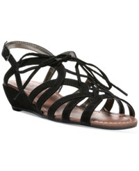 Carlos By Carlos Santana Belle Wedge Sandals Women's Shoes Black