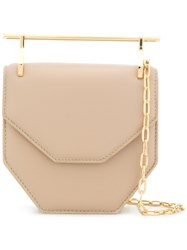 M2malletier Amor Fati Shoulder Bag Nude And Neutrals