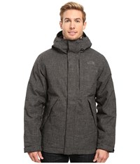 The North Face Tweed Stanwix Jacket Tnf Black Tweed Men's Coat Gray