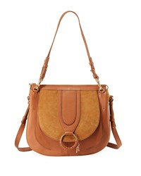 See By Chloe Hana Leather And Suede Tote Bag Brown