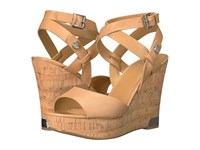 Guess Harana Ambra Women's Wedge Shoes Gold