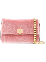 Philippe Model Nancy Shoulder Bag Pink And Purple