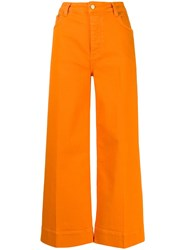 Victoria Beckham Wide Leg Cropped Jeans 60