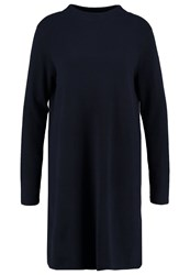 Opus Warsley Jumper Dress Lush Blue Light Blue
