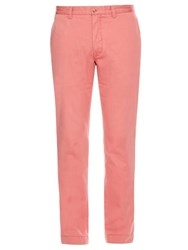 Polo Ralph Lauren Slim Fit Cotton Chino Trousers Pink