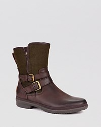 Ugg Waterproof Cold Weather Booties Simmens Stout Brown