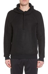 Alo Yoga 'S The Triumph Hoodie Solid Black Triblend