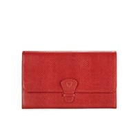 Aspinal Of London Women's Classic Travel Wallet Berry Red