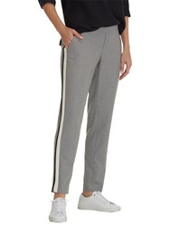 Betty And Co. Sporty Trousers Light Silver Melange