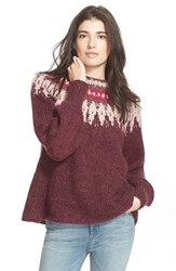 Women's Free People 'Baltic Fairisle' Sweater