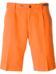 Pt01 Bermuda Shorts Yellow And Orange