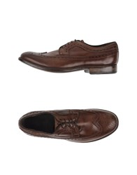 Preventi Footwear Lace Up Shoes Men Cocoa