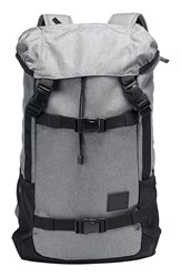 Men's Nixon 'Landlock' Backpack Grey Heather Grey