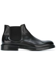 Doucal's 'Delave' Boots Black